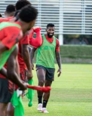 VÍDEO: veja imagens do último treino do Flamengo antes de decidir vaga na Copa do Brasil