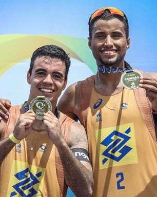 'Dupla do futuro' espera se firmar entre os melhores na última etapa do Circuito Brasileiro de vôlei de praia