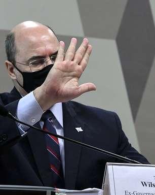 CPI fará sessão secreta com Witzel e quebra mais sigilos