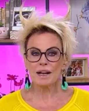 Ana Maria Braga apresenta 'Mais Você' de 'chifre' na cabeça