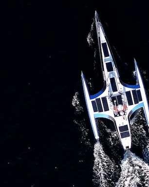 O 'navio-robô' que vai recriar viagem histórica pelo Atlântico