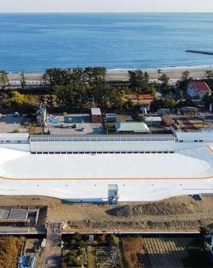 Piscina de ondas japonesa estará liberada para treinos olímpicos