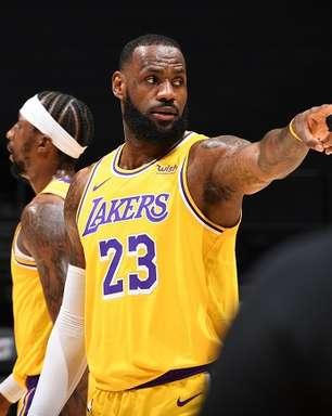 """""""Eu avisei e a NBA não quis ouvir"""", questiona LeBron James"""