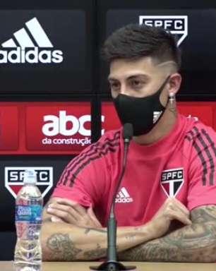 """SÃO PAULO: Rigoni destaca a sua rápida adaptação na equipe: """"Só posso agradecer aos meus companheiros e a comissão técnica"""""""