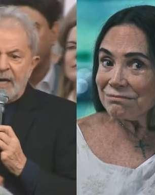 Lula toma nova atitude na Justiça contra Regina Duarte e promete doação de indenização