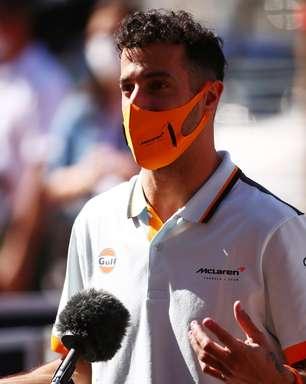 """Ricciardo brinca e ri sobre animação para GP da França: """"Não acredito que vou dizer isso"""""""