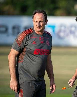 Recuperado da Covid-19, Rogério Ceni se reapresenta ao Flamengo e comanda treino no Ninho