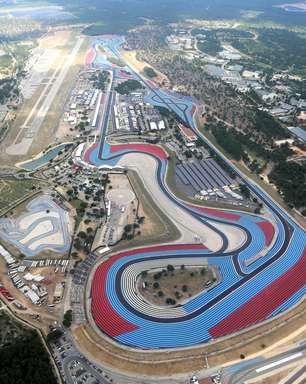 Paul Ricard tem sexta-feira quente e de ventos fortes para treinos livres do GP da França