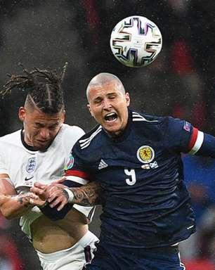 Em jogo equilibrado, Inglaterra e Escócia empatam sem gols na Eurocopa