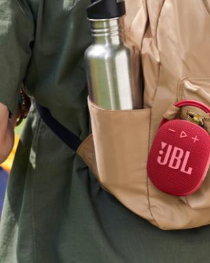 Caixa de som JBL Clip 4 chega ao Brasil com novo design e IP67