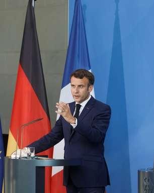 Merkel e Macron pedem coordenação da UE na reabertura de fronteiras