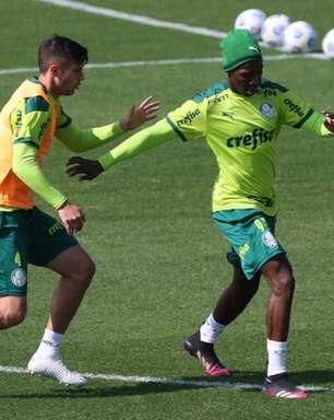 Palmeiras se reapresenta com volta de Patrick de Paula e Danilo Barbosa