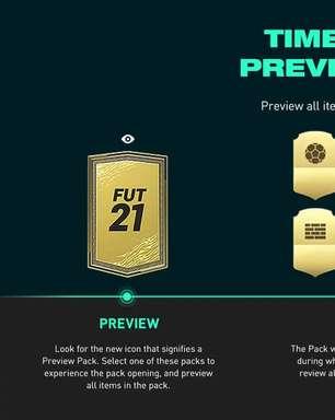 Agora você pode ver o que vêm no pack de FIFA antes de comprar