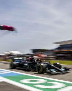 """Hamilton se anima com chance de chuva e """"estratégia interessante em jogo"""" na França"""