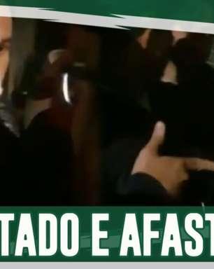 Boletim: Lucas Lima é flagrado na noite, recebe multa e é afastado do Palmeiras