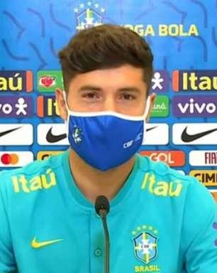 Felipe não treina com a Seleção Brasileira e realizará exame neste domingo