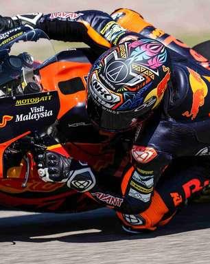 Gardner passeia após queda de Raúl Fernández e vence GP da Alemanha de Moto2