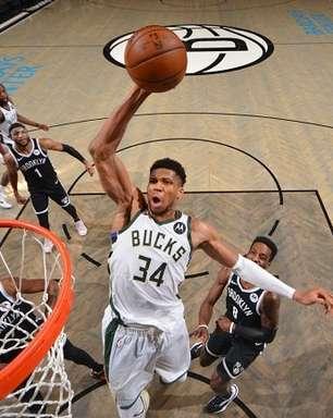 Antetokounmpo lidera, Bucks bate Nets e vai às finais do Leste