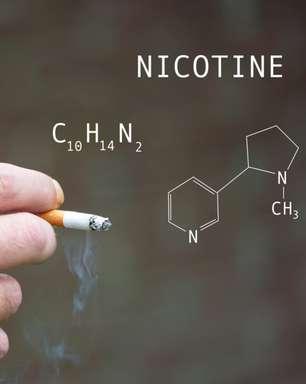 O que é a nicotina e por qual razão ela causa dependência?