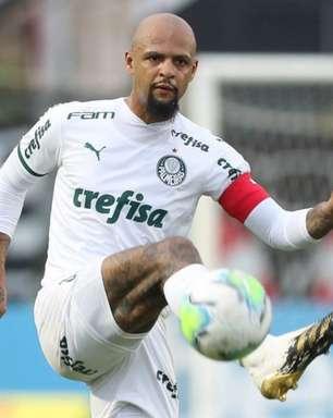 Por desfalques e falta de opção, Felipe Melo pode voltar a atuar na zaga do Palmeiras