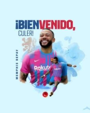 Memphis Depay comemora acerto com Barcelona e manda recado para torcida; veja o vídeo