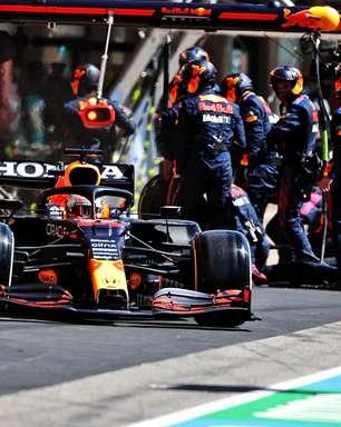 Red Bull continua seu domínio nos pit stops da F1