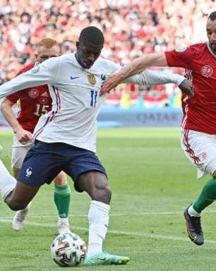 Dembélé abandona Eurocopa após lesão sofrida na segunda rodada