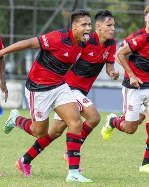 VÍDEO: Flamengo vence o Botafogo de virada por 4 a 3 na Copa Rio Sub-17; veja os gols