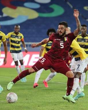 Equador e Venezuela empatam por 2 a 2 pela Copa América