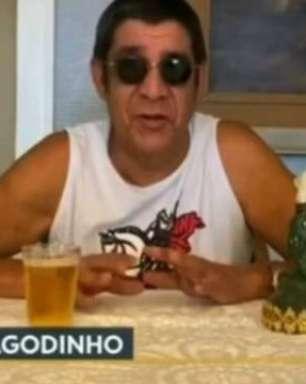 Zeca Pagodinho diz que trocou cerveja por vinho na pandemia: 'Gelada pede parceiro'