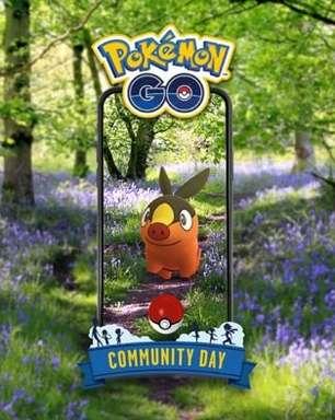 Dia Comunitário de julho tem Tepig em Pokémon GO