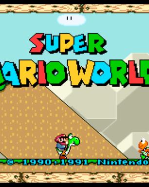 Brasileiro cria mod de Super Mario do SNES para rodar em widescreen