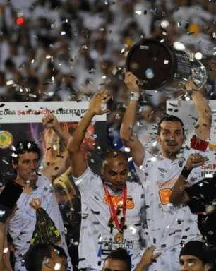 Tri do Santos na Libertadores completa dez anos nesta terça