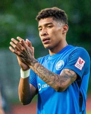 Com gols e assistências, Emerson Baiano se destaca pelo líder da Liga da Letônia