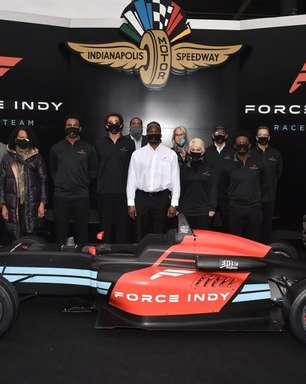 """Force Indy nasceu de desejo de ter """"equipe chefiada por afro-americanos"""""""