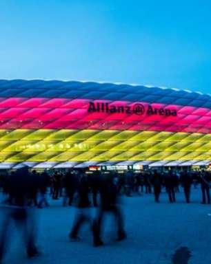 Uefa proíbe iluminação nas cores do arco-íris na Allianz Arena