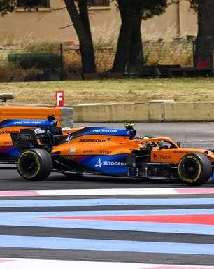 """Norris reclama e quer discutir ultrapassagem com Ricciardo: """"Não devia ter feito"""""""