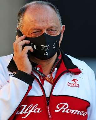 """Vasseur sobre substituição de Furbatto na Alfa Romeo F1: """"Quero investir no pessoal da equipe"""""""