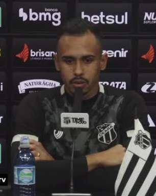 """CEARÁ: Lima minimiza pressão em cima de Guto Ferreira por melhores resultados: """"Quem vive do futebol, vive sob pressão"""""""