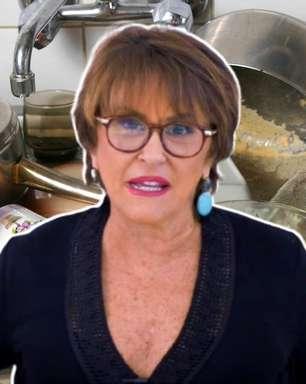 Sensitiva da TV diz que louça suja atrai espírito esfomeado