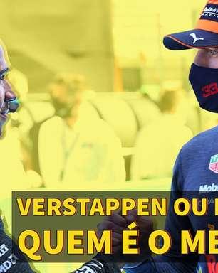 Primeira Curva: Entre Verstappen e Hamilton, é campeão da F1 quem errar menos