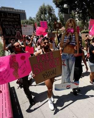 """Britney Spears depõe nos EUA: """"Só quero minha vida de volta"""""""