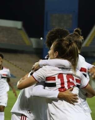Em jogo com duas viradas, São Paulo bate o Bahia no Brasileiro Feminino