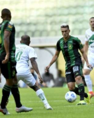 Veja os gols do empate entre América-MG e Juventude em BH