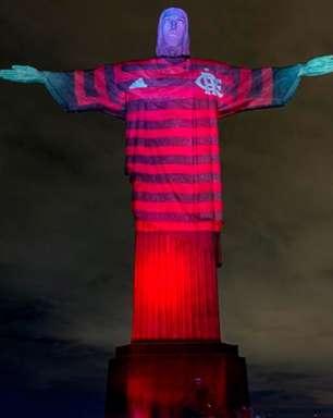 Campanha que 'vestiu' o Cristo com a camisa do Flamengo é premiada em Cannes