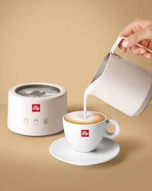 Illycaffè lança máquina para bebidas à base de leite