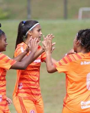 Equipes femininas sub-16 e 18 do Internacional estreiam no Brasileirão neste fim de semana