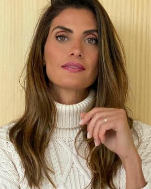 Isabella Fiorentino prova que look claro combina com inverno