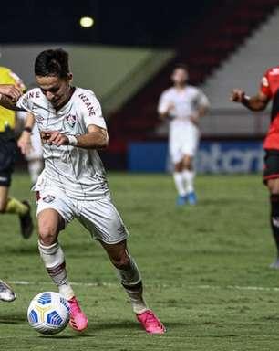 Gabriel Teixeira comenta derrota e admite falha no gol do Atlético-GO: 'A gente tentou propor o nosso jogo'