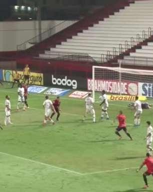 SÉRIE A: Gol de Atlético-GO 1 x 0 Fluminense